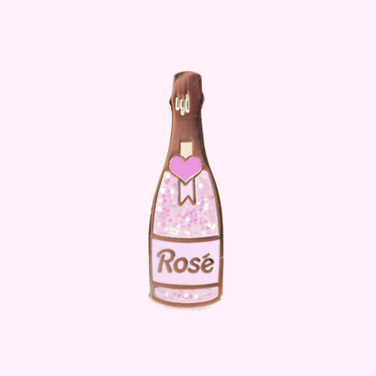 Rose Bubbly Pin - Daily Disco