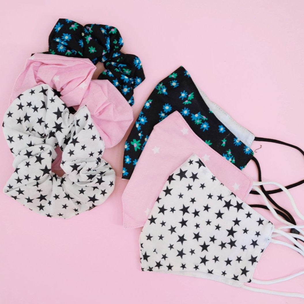Mask and Scrunchie Set