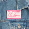 Custom Will Work For Patch - Abbey Eilermann