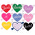 Custom Heart Patches Personalized - All Colors - Abbey Eilermann