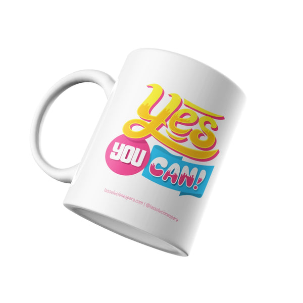 "Taza "" Yes You Can! "" soluciones Las Soluciones Para"