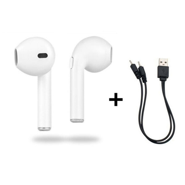 AURICULARES INALAMBRICOS BLUETOOTH ESTEREO MINI AURICULARES SAMSUNG XIAOMI IPHONE AMAZON CASCOS