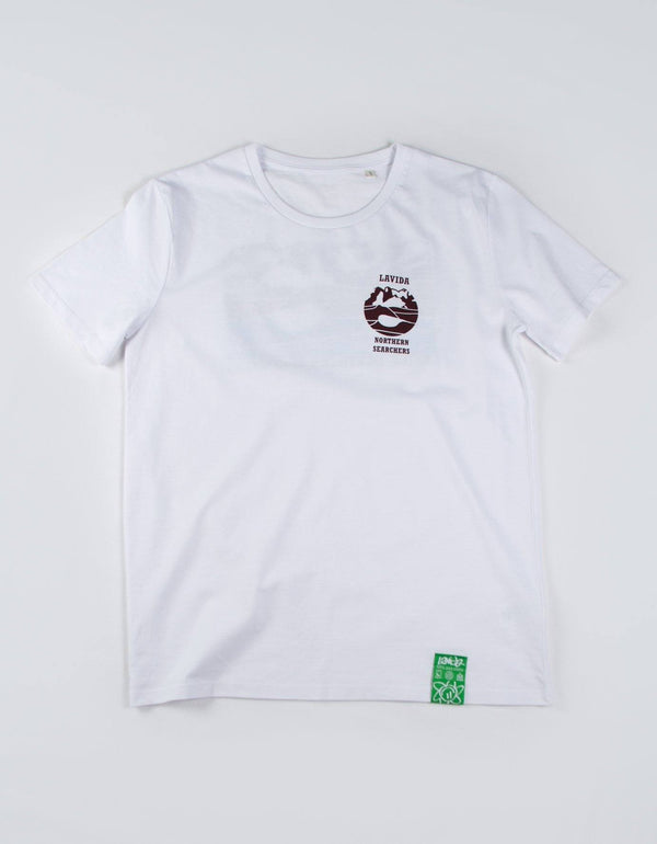 Camiseta Northern Searchers Manga Corta Camisetas Lavida shop S White