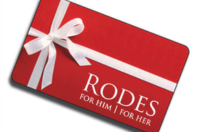 Rodes For Him / For Her Gift Card