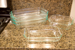 Collection of Pyrex Bakeware