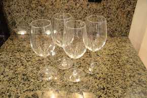Collection of 10 Wine Glasses