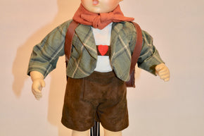 "M.I. Hummel ""School Boy"" Doll"
