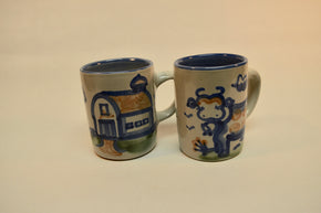 Pair of M.A. Hadley Mugs44