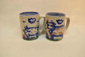 Pair of M.A. Hadley Mugs