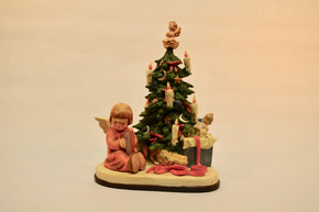 "M.I. Hummel ""Christmas Surprise"" Musical Figurine"