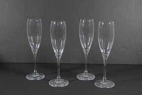 Set of 4 Robert Mondavi Waterford Flute Glasses