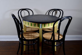 Kitchen Table with 4 Chairs - Painted