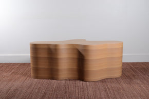 Glass Top Coffee Table by Interlude Studios