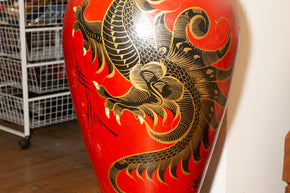 Asian Ceramic Vase on Stand2
