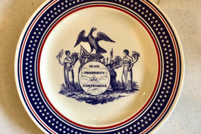 Peace, Prosperity and Independence Commemorative Plate