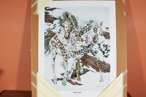 "Certified Print of Judy Larson's ""Crow Ponies"""