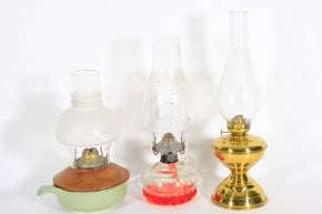 Colleciton of Hurricane Lamps