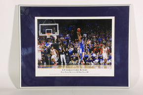 """A Unforgettable Knight"" University of Kentucky Basketball Framed Print"