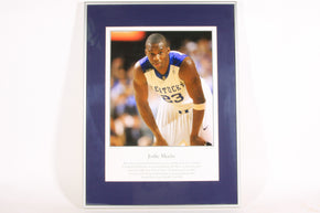 University of Kentucky Basketball Jodie Meeks Framed print