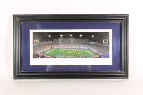 "University of Kentucky Football Custom Framed Print ""Cat Fight""1"