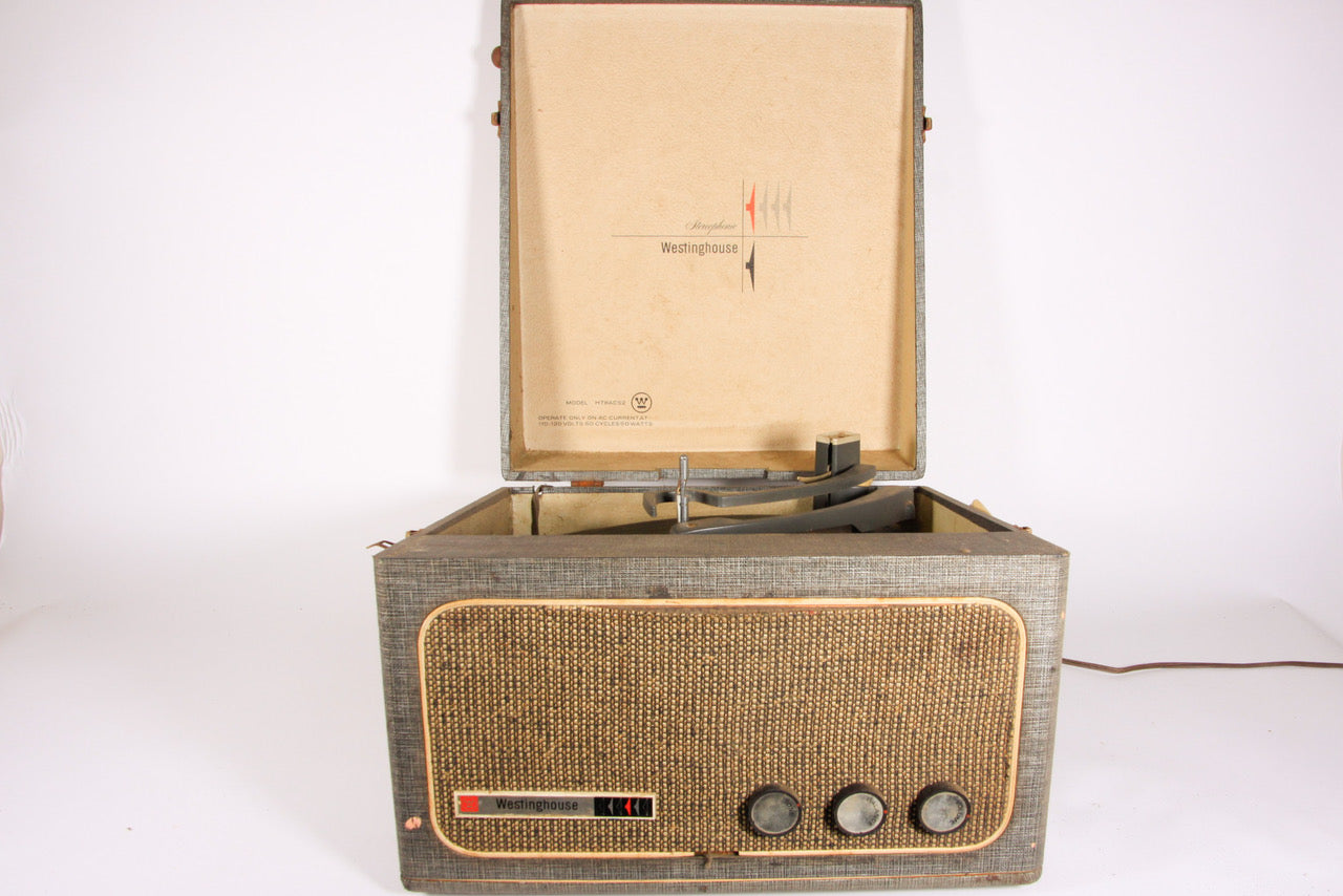 Vintage Westinghouse Portable Record Player