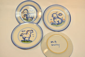 Collection of Four M.A. Hadley Salad Plates