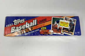 1993 Topps baseball cards Sealed Complete set