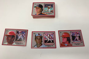 Collection of 1983 Donruss Big Baseball cards