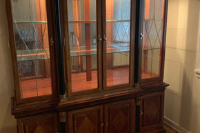 Cherry Universal Furniture China Cabinet