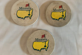 Trio of Coasters from The Masters