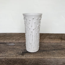 Load image into Gallery viewer, Handcrafted White Ceramic Vases