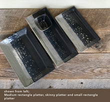 "Load image into Gallery viewer, MIDNIGHT  PLATTER SET - SKINNY 14""  X 6"""