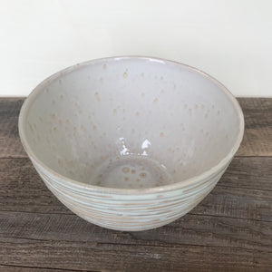OATMEAL TALI SERVING BOWL IN WAVE