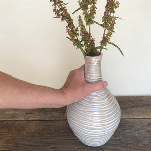 OATMEAL BELLY VASE