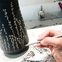 Load image into Gallery viewer, BOTANICAL SILHOUETTES UTENSIL HOLDER