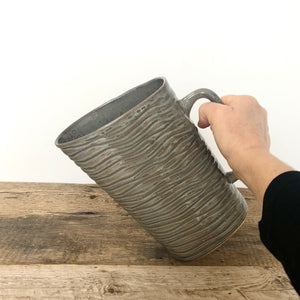 SLATE MILK BAG HOLDER IN WAVE