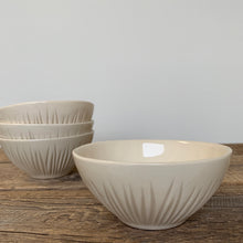 Load image into Gallery viewer, IVORY SMALL EVERYDAY BOWLS IN GRASS