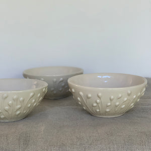 IVORY SMALL EVERYDAY BOWLS IN ENOKI
