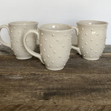 Load image into Gallery viewer, IVORY MUG 15 OUNCES WITH DOTS