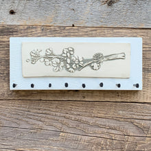 Load image into Gallery viewer, MEDIUM JEWELLERY HOLDER / KEY HOLDER WITH CHERRY BLOSSOMS A13