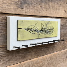Load image into Gallery viewer, MEDIUM JEWELLERY HOLDER / KEY HOLDER WITH PLANT H