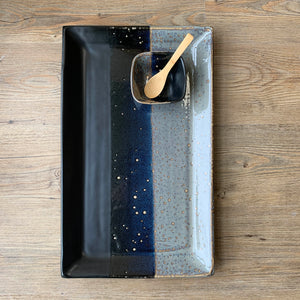 MIDNIGHT EXTRA LARGE RECTANGLE PLATTER SET