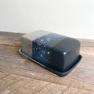 MIDNIGHT BUTTER DISH