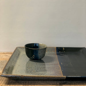 MIDNIGHT LARGE SQUARE PLATTER SET