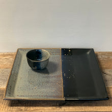 Load image into Gallery viewer, MIDNIGHT LARGE SQUARE PLATTER SET