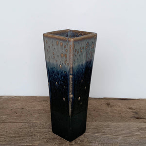 MIDNIGHT SQUARE VASE