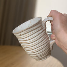 Load image into Gallery viewer, OATMEAL MUG IN WAVE - 15 OUNCES