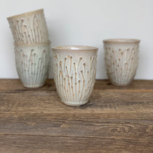 Load image into Gallery viewer, OATMEAL WINE CUPS IN PUSSY WILLOW