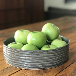 SLATE CYLINDER SERVING BOWL - MEDIUM