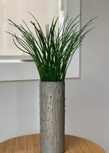 Load image into Gallery viewer, SLATE CYLINDER VASE WITH PUSSY WILLOWS